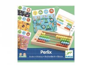 Perlix Abakusz, Djeco logikai fejlesztőjáték fából - 8348 (4-8 év)