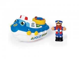 Perry, a rendőrcsónak (Wow Toys, hajós játék, 2-5 év)