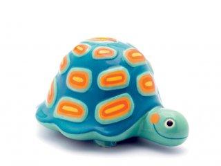 Persely, teknős (Djeco, 3301, gyerek szobadekoráció)