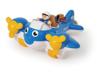 Pete, a rendőrségi repülő (Wow Toys, lendkerekes repülő figurákkal, 18 hó-5 év)