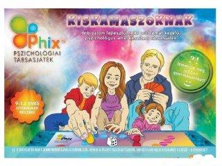 Phix, Pszichológiai társasjáték kiskamaszoknak (önbizalom fejlesztő társasjáték, 9-13 év)