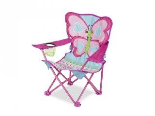 Pillangós horgász szék, kemping szék (6693, Melissa)