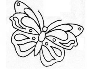 Pillangós nyomtatható színező gyerekeknek