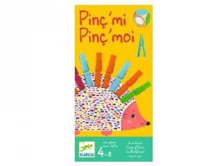 Pinc' mi Pinc' moi Djeco csipeszes készségfejlesztő társasjáték (8481, 4-8 év)
