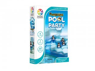 Pingvin Fürdő (Smart Games, logikai játék, 6-99 év)