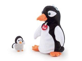 Pingvin Kesztyű- és ujjbáb, anya és kicsinye (bábjáték, 3-12 év)
