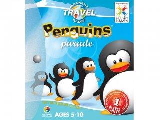 Pingvin parádé (Smart Games, mágneses, egyszemélyes logikai úti játék, 5-10 év)