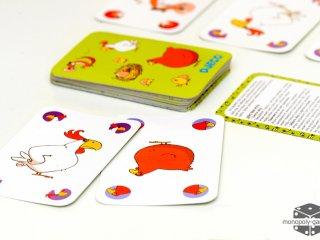 Piou Piou (Djeco, 5119, stratégiai kártyajáték, 5-9 év)