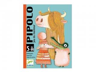 Pipolo (Djeco, 5108, blöffölős kártyajáték, 5-9 év)