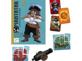 Piratatak (Djeco, 5113, kalózos stratégiai kártyajáték, 5-99 év)