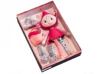 Piroska díszdobozban (Lilliputiens, 83041, bébijáték, karácsonyi LIMITÁLT KIADÁS, 0-3 év)