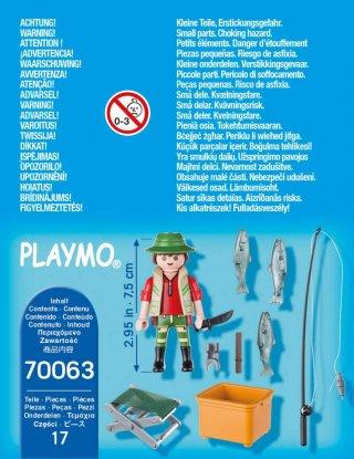 Pisztránghorgász, Playmobil szerepjáték (70063, 4-10 év)