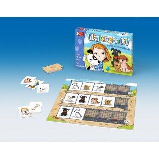 Pitypang és Lili, Keller & Mayer kutyamentő társasjáték (3-6 év)