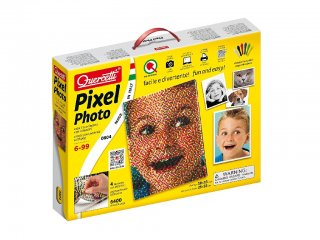 Pixel Art, Fotó, 4 táblás Quercetti 6400 db-os tüskejáték (9-99 év)