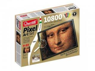 Pixel Art, Mona Lisa (Quercetti, művészi tüskejáték képpontokkal, 9-99 év)