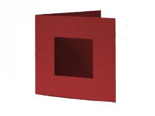 Pixelhobby díszkártya, bordó (20105, 4db/csomag, 6x6 cm-es alaplaphoz, 4-99 év)