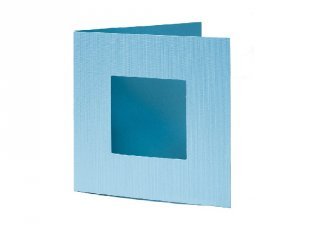 Pixelhobby díszkártya, világos kék (20101, 4db/csomag, 6x6 cm-es alaplaphoz, 4-99 év)