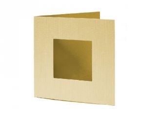 Pixelhobby díszkártya, világos sárga (20103, 4db/csomag, 6x6 cm-es alaplaphoz, 4-99 év)