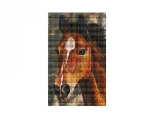 Pixelhobby képkészlet, barna ló (802103, 2db alaplap + színek, 7-99 év)