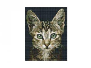 Pixelhobby képkészlet, cica hosszú füllel (804362, 4db alaplap + színek, 7-99 év)