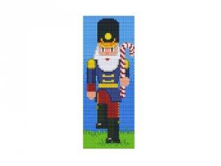 Pixelhobby képkészlet, fakatona (802066, 2db alaplap + színek, 7-99 év)