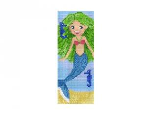 Pixelhobby képkészlet, hableány tengeri csikókkal (802072, 2db alaplap + színek, 7-99 év)