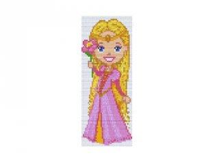 Pixelhobby képkészlet, hercegnő (802073, 2db alaplap + színek, 7-99 év)
