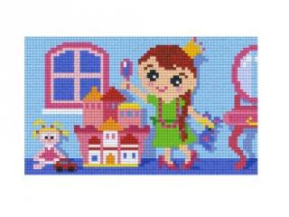 Pixelhobby képkészlet, játszószoba (802045, 2db alaplap + színek, 7-99 év)
