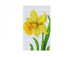 Pixelhobby képkészlet, nárcisz (802054, 2db alaplap + színek, 7-99 év)