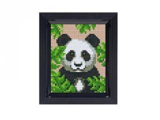 Pixelhobby képkészlet, Panda (31432, 10x12 cm-es alaplap, színek, képkeret, 7-99 év)