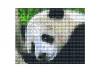 Pixelhobby képkészlet, panda (801308, 1db alaplap + színek, 7-99 év)