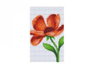 Pixelhobby képkészlet, pipacs (802058, 2db alaplap + színek, 7-99 év)