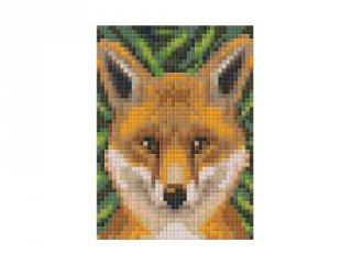 Pixelhobby képkészlet, róka (801324, 1db alaplap + színek, 7-99 év)