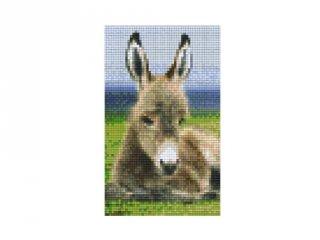 Pixelhobby képkészlet, szamár (802102 2db alaplap + színek, 7-99 év)