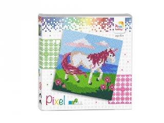 Pixelhobby képkészlet, Unikornis (44012, 4db 6x6-os alaplap + színek, 7-99 év)