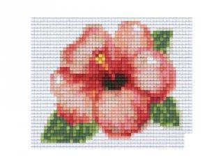 Pixelhobby képkészlet, virág (801337, 1db alaplap + színek, 7-99 év)