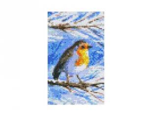 Pixelhobby képkészlet, vörösbegy (802040, 2db alaplap + színek, 7-99 év)