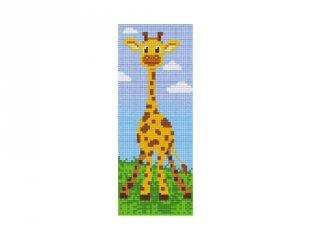 Pixelhobby képkészlet, zsiráf (802067, 2db alaplap + színek, 7-99 év)