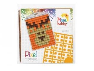 Pixelhobby Kulcstartó készlet, szarvas (23003, 1db kulcstartó alaplap + 3 szín, 7-99 év)