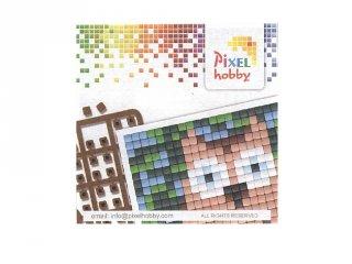 Pixelhobby mini mintafüzet, bagoly (20072, ötletfüzet 6x6 cm-es alaplaphoz, 4-99 év)