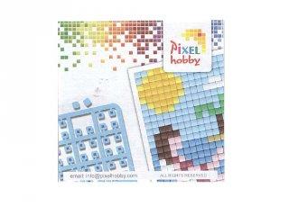 Pixelhobby mini mintafüzet, nyaralás (20073, ötletfüzet 6x6 cm-es alaplaphoz, 4-99 év)