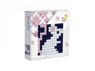 Pixelhobby, Mini Pixel XL készlet, egér (30215, 1db 6x6 cm-es alaplap, 3 szín, 4-6 év)