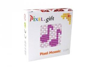 Pixelhobby, Mini Pixel XL készlet, hangjegy (30209, 1db 6x6 cm-es alaplap, 3 szín, 4-6 év)