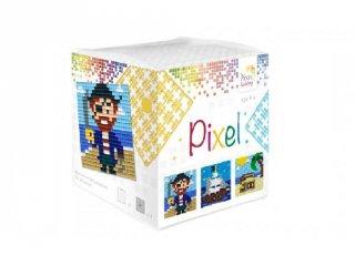 Pixelhobby, Pixel kocka, kalóz (29009, 3db 6x6 cm-es képhez, 7-99 év)