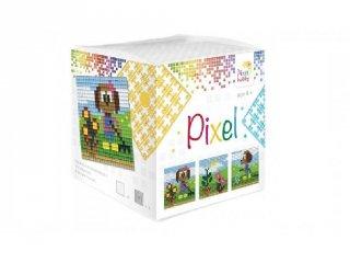 Pixelhobby, Pixel kocka, kutya (29012, 3db 6x6 cm-es képhez, 7-99 év)