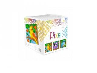 Pixelhobby, Pixel kocka, Madarak (29008, 3db 6x6 cm-es képhez, 7-99 év)