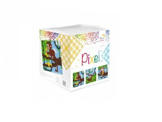 Pixelhobby, Pixel kocka, Majmok (29004, 3db 6x6 cm-es képhez, 7-99 év)