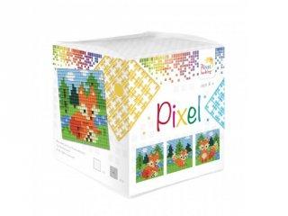 Pixelhobby, Pixel kocka, róka (29015, 3db 6x6 cm-es képhez, 7-99 év)