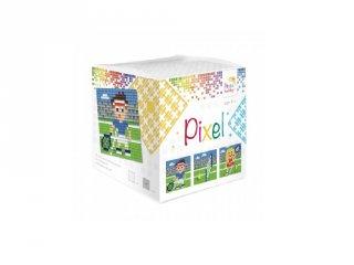 Pixelhobby, Pixel kocka, Tenisz (29011, 3db 6x6 cm-es képhez, 7-99 év)