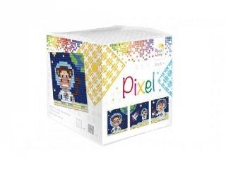 Pixelhobby, Pixel kocka, űrhajó (29013, 3db 6x6 cm-es képhez, 7-99 év)